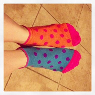 runners toe socks