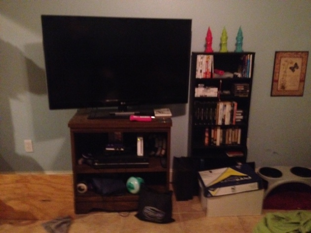 The old set up!