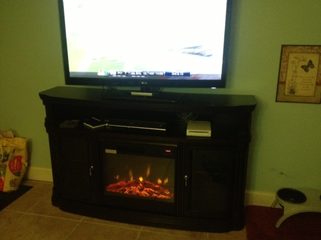 The new FIRE PLACE!
