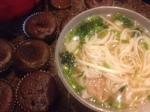 Any reason to have pho takeout is a great thing!