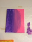 I started a painting in a way I certainly NEVER have before! lol