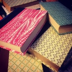 Up-cycling journals.