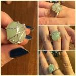 Faye - my first ring.