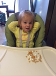 She talked a lot about how much she loved her snack!