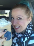 Birthday frappe! It was lovely!