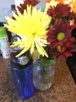 My Gipper brought me flowers - love - and my wife gave me an awesome water bottle!!!